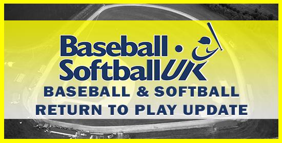 Return to Play Update for Baseball and Softball
