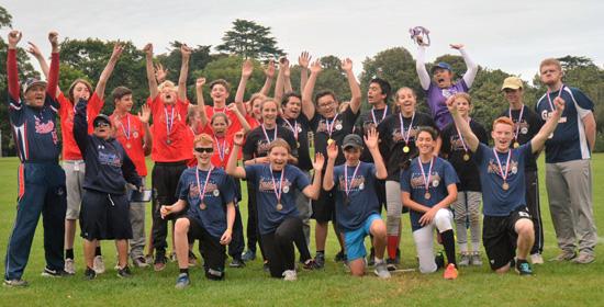 2016 Chichester Junior Fastpitch Tournament participants